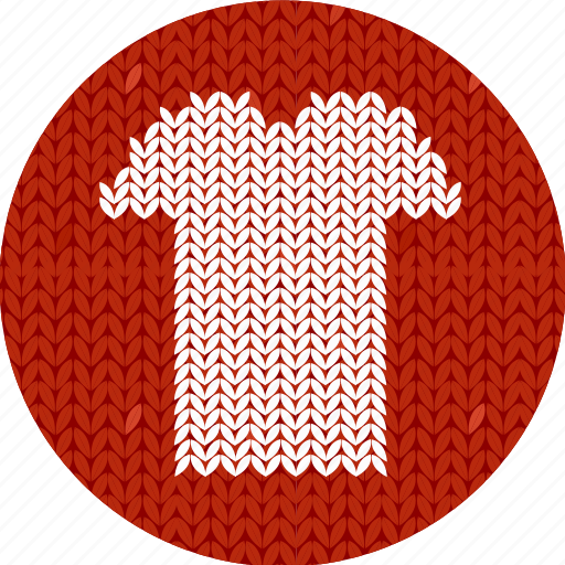 cloth, clothes, fabric, knitwear, red, shirt, t-shirt, white icon