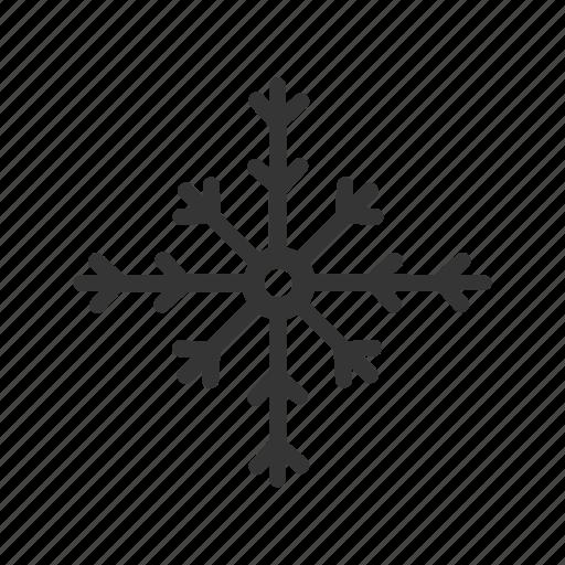 christmas, flake, line, pattern, snow, snowflake icon