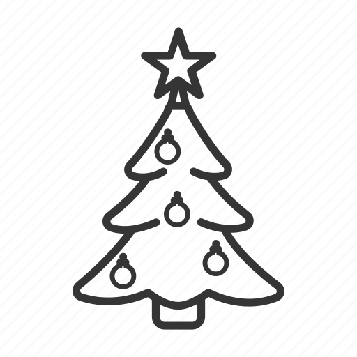 Christmas, fir, herringbone, star, toy, tree icon - Download on Iconfinder