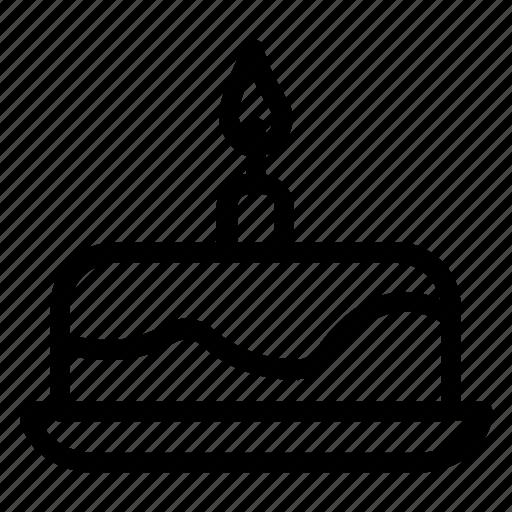 birthday, cake, fruitcake, sweets icon