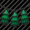 celebration, christmas, christmas tree, decoration, garland