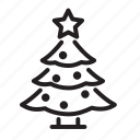 christmas, tree, celebration, decoration, holiday, santa, snow, winter, xmas