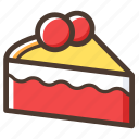 cake, christmas, dessert, food