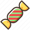candy, christmas, sweets, food icon