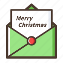 christmas, greeting card, cards icon