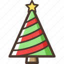 christmas, tree, decoration, home