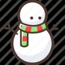 christmas, snowman, frosty