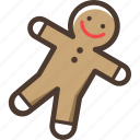 gingerbread, christmas, gingerbread man, new year