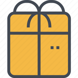 box, christmas, gift, ornaments, present icon