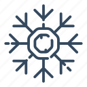 abstract, christmas, decoration, flake, snowflake, winter, xmas icon