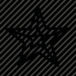 decoration, new year, star, winter, x-mas icon