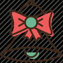 bell, christmas, holidays, winter, xmas icon