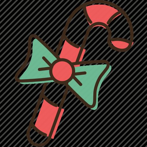 cane, christmas, holidays, winter, xmas icon