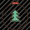 ball, christmas, holidays, winter, xmas icon