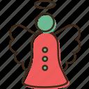 angel, christmas, holidays, winter, xmas icon