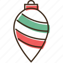 ball, christmas, drop, holidays, winter, xmas icon