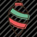 ball, christmas, drop, holidays, winter, xmas icon