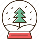 ball, christmas, holidays, table, winter, xmas icon