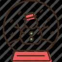 ball, christmas, holidays, table, winter, xmas icon