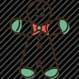 christmas, gingerbread, holidays, winter, xmas icon
