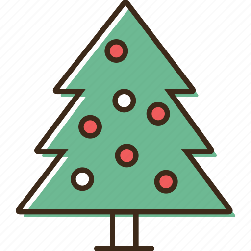 christmas, holidays, tree, winter, xmas icon