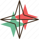 christmas, holidays, star, winter, xmas icon