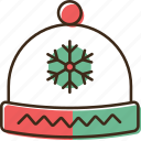 christmas, hat, holidays, winter, xmas icon