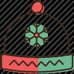 christmas, hat, holidays, winter, xmas icon