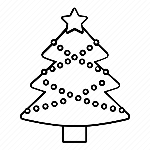 celebration, christmas, decoration, tree, winter, x-mas icon