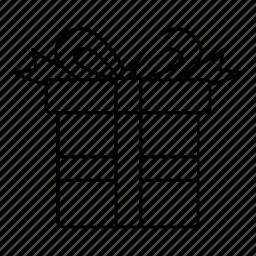 box, christmas, decoration, gift, present, surprise, x-mas icon