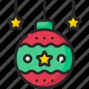 ball, christmas, decoration, winter, xmas