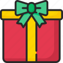 box, christmas, decoration, gift, present
