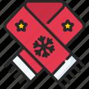 christmas, decoaration, muffler, xmas