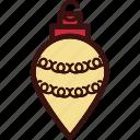 ball, christmas, decor, decoration, light icon
