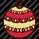ball, christmas, decor, decoration icon