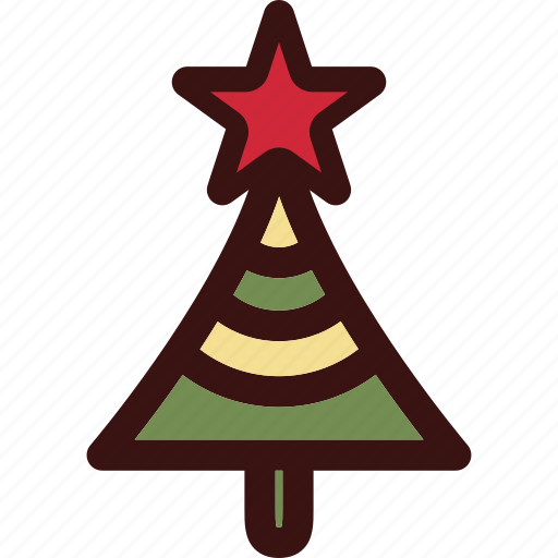christmas, color, decoration, holiday, orname icon