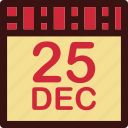 calendar, christmas calendar, date, day icon