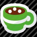 christmas, coffee, espresso icon