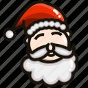 christmas, claus, cold, holiday, santa, winter, xmas icon