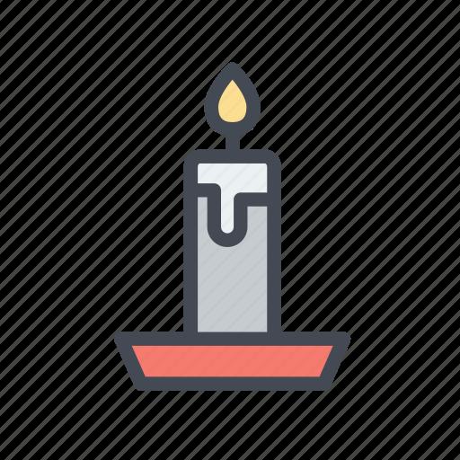 candle, celebration, christmas, xmas icon