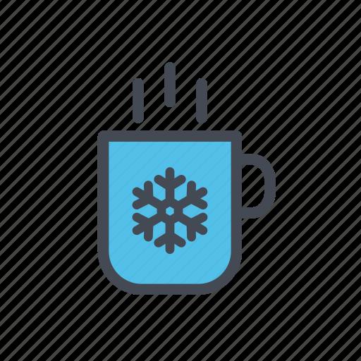 beverage, christmas, coffee, drink, hot cocoa, winter, xmas icon