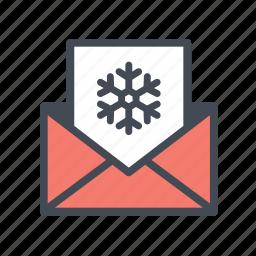 card, christmas, invitation, party, postcard, xmas icon