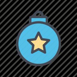 christmas, decoration, ornament, xmas icon