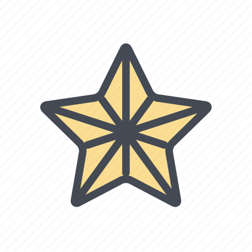 christmas, decoration, star, treetopper, xmas icon