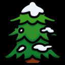 pine, tree, christmas, forest, snow, joshua icon