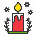 candle, christmas, fire, light