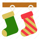 christmas, fashion, hanging, merry, sock