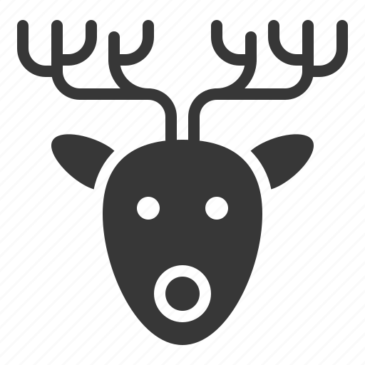 Animal, christmas, deer, merry, reindeer icon - Download on Iconfinder