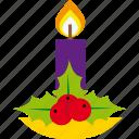 candle, christmas, decoration, holiday, light, xmas