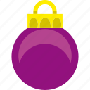 ball, celebration, christmas, decoration, holiday, xmas icon